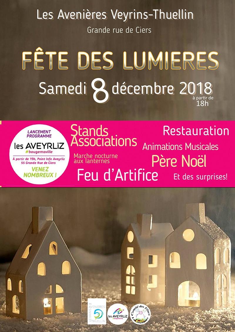 Marché du 8 Décembre aux Avenières en 2018